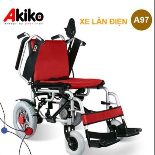 Xe lăn điện cao cấp nhập khẩu Akiko A97