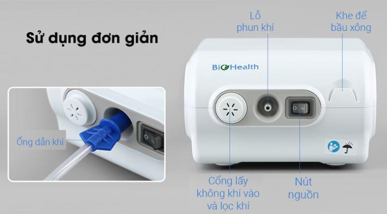 Công dụng của máy xông khí dung BioHealth NEB Easy