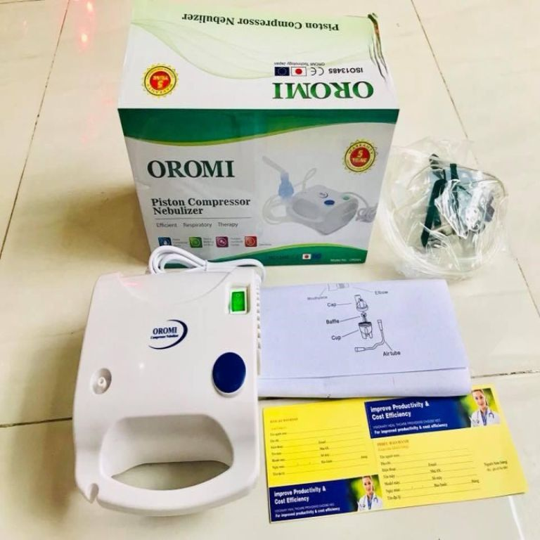 Giới thiệu về máy xông khí dung Oromi