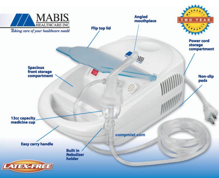Lưu ý khi sử dụng máy Mabis - Compmist USA tại nhà