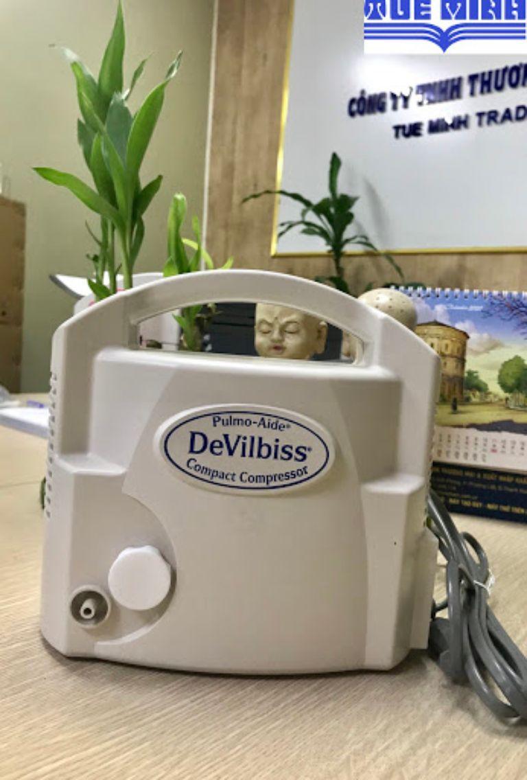 Giới thiệu về máy xông khí dung Devilbiss Pulmo Aide