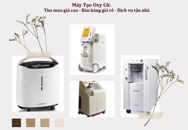 Máy tạo oxy cũ