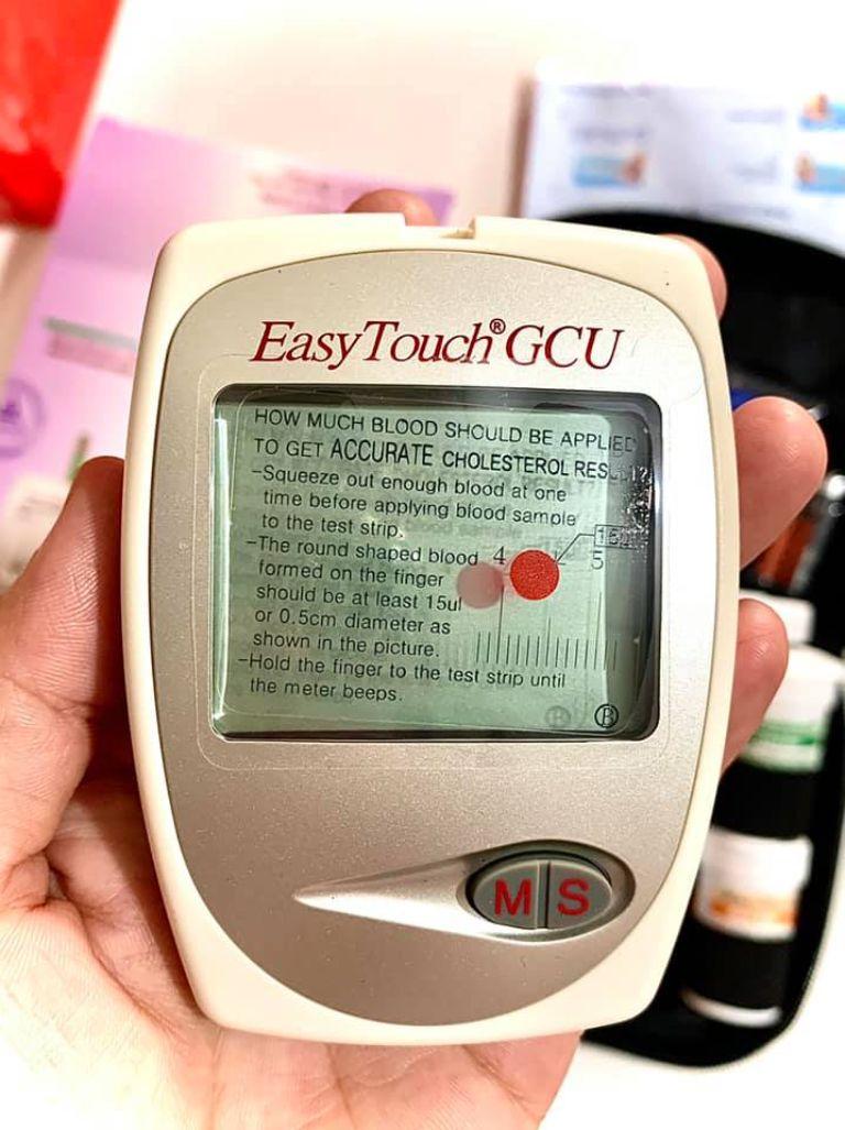 Máy đo đường huyết Easy Touch GCU ET322