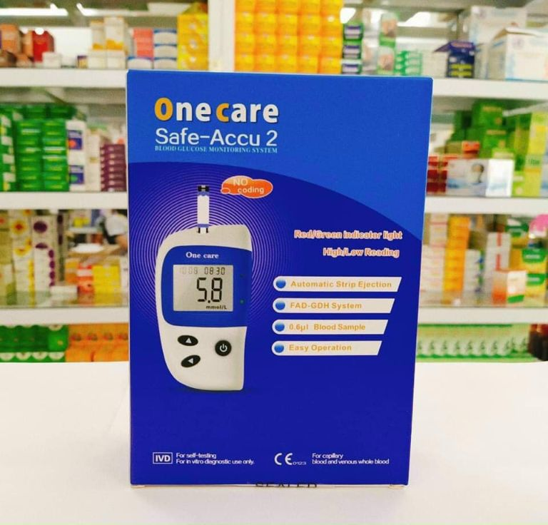 Máy đo đường huyết One Care Safe-Accu 2