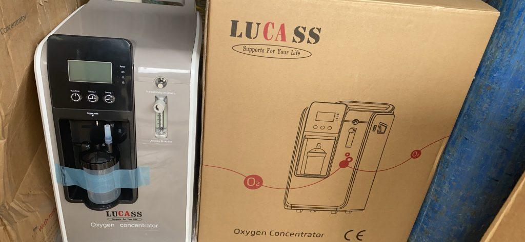Máy tạo oxy Lucass 5 lít SZ-5BW