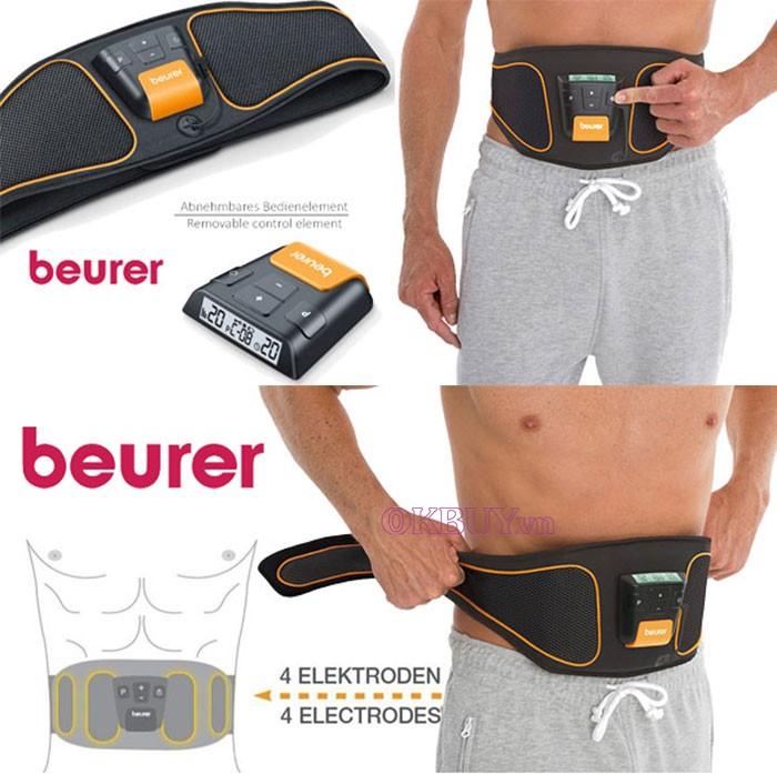 Cấu tạo Đai massage giảm mỡ bụng Beurer EM37
